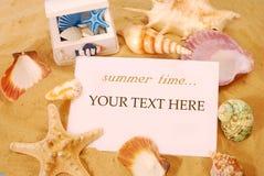 Tempo de verão Imagem de Stock Royalty Free