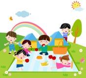 Tempo dei bambini Fotografia Stock