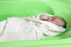 Tempo del bagno Fotografie Stock Libere da Diritti