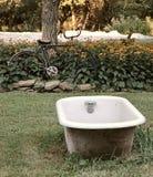 Tempo del bagno all'azienda agricola Fotografie Stock Libere da Diritti