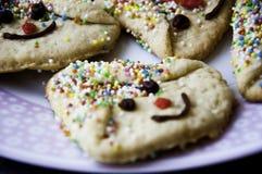 Tempo del biscotto Fotografia Stock