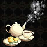 Tempo del caffè Immagini Stock