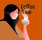 Tempo del caffè Royalty Illustrazione gratis