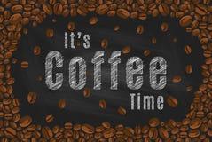 tempo del caffè del ` s Immagini Stock Libere da Diritti