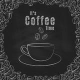 tempo del caffè del ` s Fotografia Stock