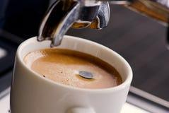Tempo del caffè espresso fotografie stock libere da diritti