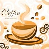 Tempo del caffè Momento magico royalty illustrazione gratis