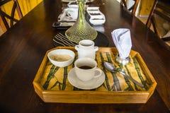 Tempo del caffè nel Panama Immagine Stock