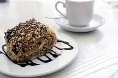 Tempo del dessert fotografie stock