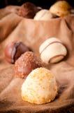 Tempo del dessert Fotografie Stock Libere da Diritti