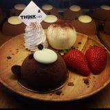 Tempo del dessert Fotografia Stock Libera da Diritti