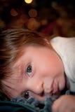 Tempo del letto di bambino immagini stock