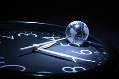 Tempo del mondo Immagine Stock