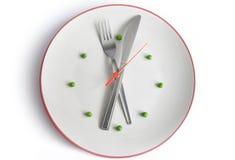 Tempo del pasto Fotografie Stock Libere da Diritti