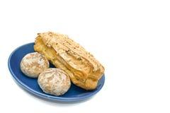 Tempo del pranzo - dessert squisito Fotografia Stock