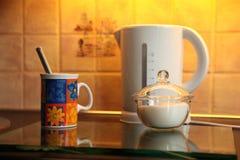 Tempo del tè. Fotografie Stock