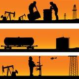 Tempo dell'olio. royalty illustrazione gratis