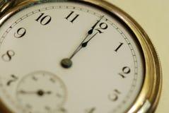 Tempo dell'orologio da tasca Immagini Stock Libere da Diritti