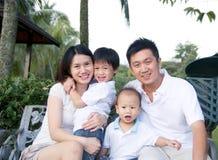 Tempo della famiglia fotografia stock