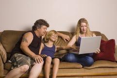 Tempo della famiglia Immagine Stock Libera da Diritti