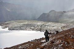 Tempo della montagna fotografia stock libera da diritti