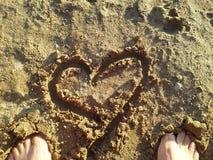 Tempo della spiaggia Immagini Stock Libere da Diritti