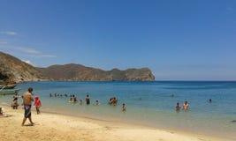 Tempo della spiaggia! Fotografie Stock Libere da Diritti