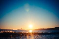 Tempo 1 della spiaggia Fotografie Stock