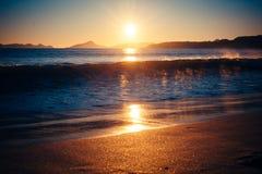 Tempo 1 della spiaggia Fotografia Stock Libera da Diritti