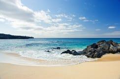 Tempo della spiaggia fotografie stock libere da diritti