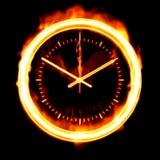 Tempo di bruciare Fotografie Stock