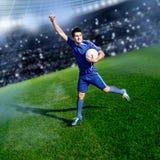 Tempo di calcio Fotografie Stock Libere da Diritti