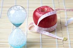Tempo di essere a dieta Immagini Stock Libere da Diritti