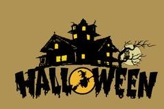 Tempo di Halloween Fotografia Stock