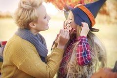 Tempo di Halloween Fotografia Stock Libera da Diritti
