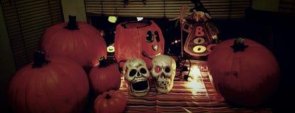 Tempo di Halloween Fotografie Stock