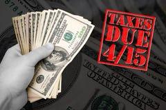 Tempo di imposta Immagine Stock Libera da Diritti