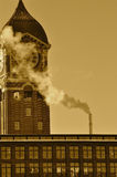 Tempo di inquinamento Immagini Stock