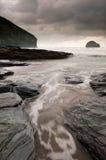 Tempo di marea Fotografie Stock