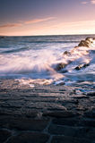Tempo di marea in Cornovaglia Immagini Stock Libere da Diritti