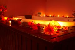 Tempo di massaggio Fotografia Stock Libera da Diritti