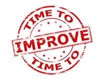 tempo di migliorare Immagine Stock Libera da Diritti