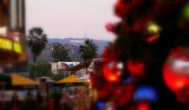 Tempo di Natale del segno di Hollywood @ Immagini Stock Libere da Diritti