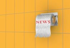 Tempo di notizie! Immagini Stock