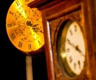Tempo di orologi Immagini Stock