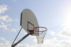 Tempo di pallacanestro Immagine Stock