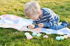 Tempo di Pasqua! Fotografia Stock Libera da Diritti