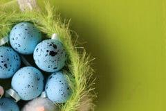 tempo di pasqua, tempo di pasqua della famiglia, uova di Pasqua, Fotografia Stock Libera da Diritti