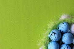 tempo di pasqua, tempo di pasqua della famiglia, uova di Pasqua, grande tempo della famiglia, Fotografia Stock Libera da Diritti