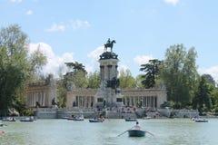 Tempo di Peacefull a Madrid immagine stock